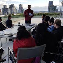 Pre-covid Vancore meetings at arooftop venue